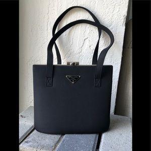 Reserved—-Prada Black Handbag